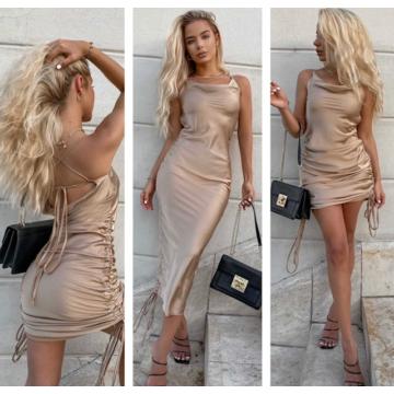 2 in 1 Wonder Dress Beige